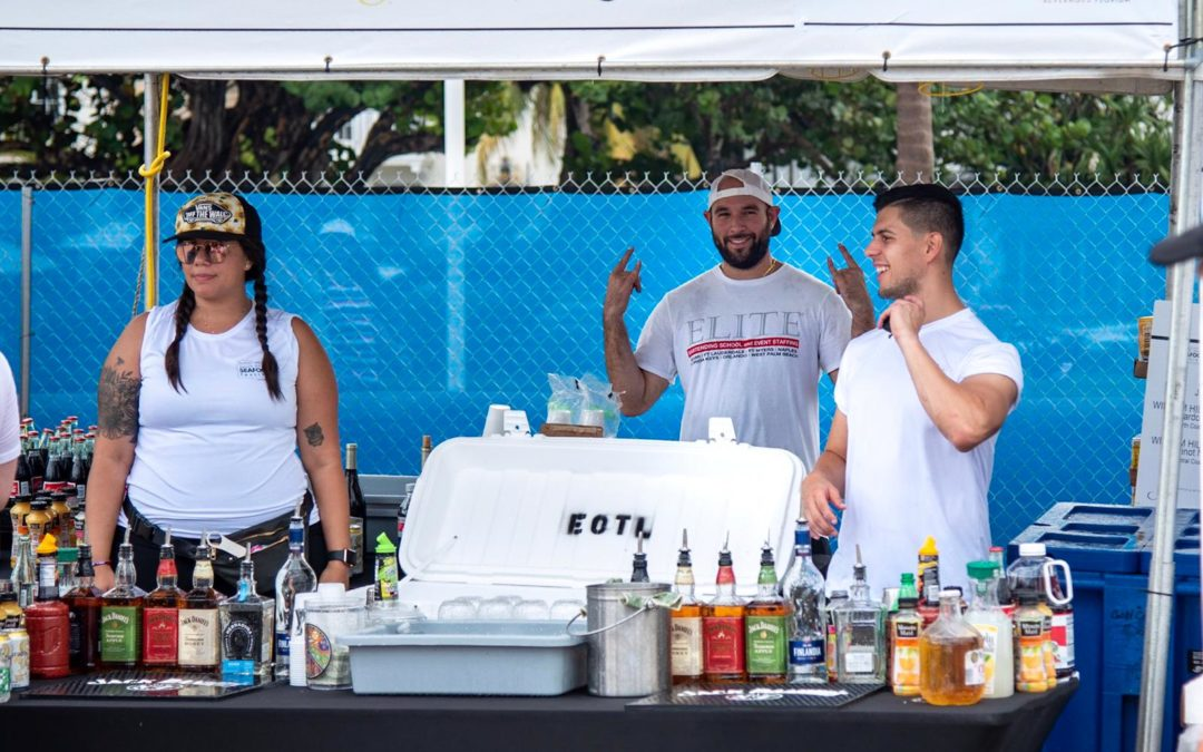 Miami Bartending Service. Hire a Bartender for Miami Events.